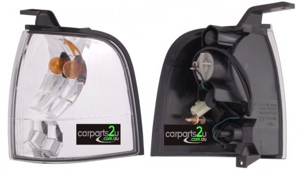 TO SUIT FORD COURIER PG/PH  FRONT CORNER LIGHT  LEFT - BRAND NEW LEFT HAND SIDE FRONT CORNER LIGHT TO SUIT FORD COURIER UTE PG/PH (11/2002-10/2006)  - New quality car parts & auto spares online Australia wide with the convenience of shopping from your own home. Carparts 2U Penrith Sydney