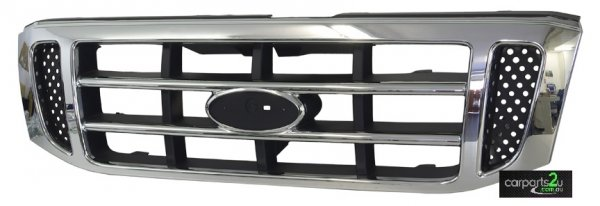 TO SUIT FORD COURIER PG/PH  GRILLE  NA - BRAND NEW CHROME GRILLE TO SUIT FORD COURIER PG/PH (11/2002-10/2006)