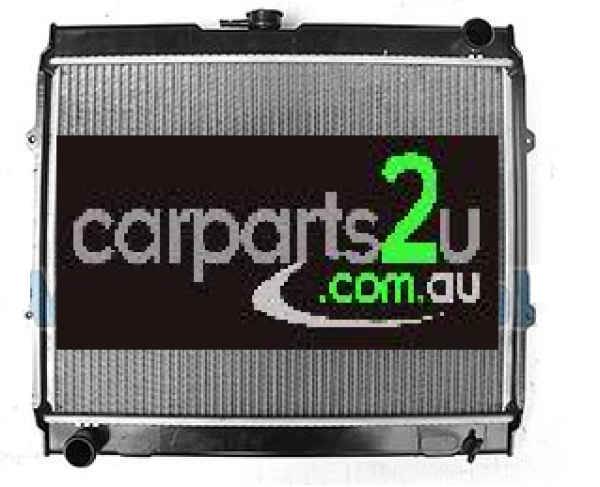 TO SUIT TOYOTA HILUX HILUX UTE 2WD  RADIATOR  NA - BRAND NEW RADIATOR TO SUIT TOYOTA HILUX 2WD 1.8 LITRE 2Y PETROL MODELS BETWEEN 10/1988-8/1997 (MANUAL TRANSMISSION)