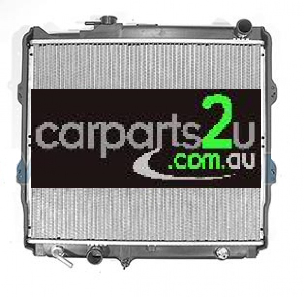 TO SUIT TOYOTA HILUX HILUX UTE 2WD  RADIATOR  NA - BRAND NEW RADIATOR TO SUIT TOYOTA HILUX 2.0/2.7 LITRE PETROL 4 CYL MODELS BETWEEN 8/1997-2/2005 (AUTOMATIC TRANSMISSION ONLY)