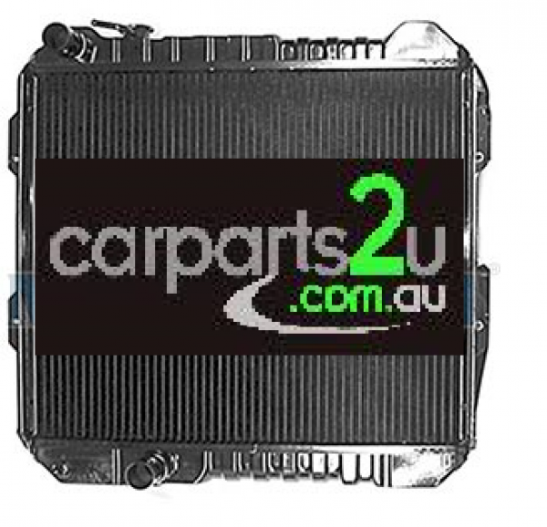 TO SUIT TOYOTA HILUX HILUX UTE 2WD  RADIATOR   - BRAND NEW RADIATOR (BRASS/COPPER) TO SUIT TOYOTA HILUX 2WD 2.4 LITRE DIESEL 2L MODELS BETWEEN 10/1988-8/1997