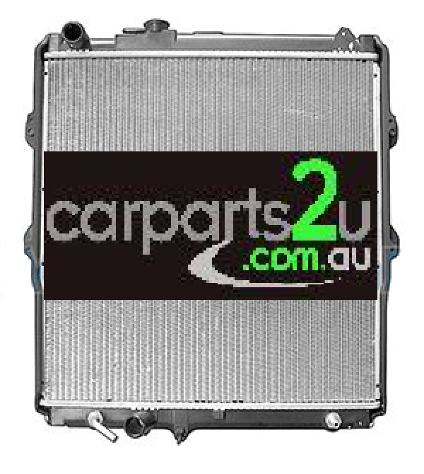 TO SUIT TOYOTA HILUX HILUX UTE 4WD  RADIATOR   - BRAND NEW RADIATOR TO SUIT TOYOTA HILUX 4WD 3.0 LITRE DIESEL / 3.0 LITRE TURBO DIESEL / 3.4 LITRE V6 PETROL MODELS BETWEEN 9/2001-2/2005 (AUTOMATIC TRANSMISSION ONLY)
