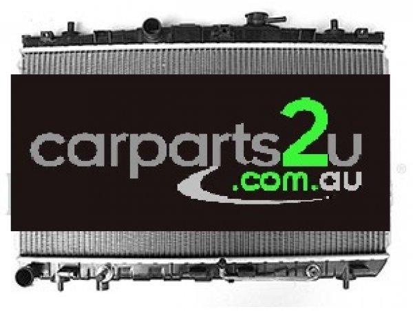 To suit HYUNDAI TIBURON TIBURON GK COUPE  RADIATOR - New quality car parts & auto spares online Australia wide with the convenience of shopping from your own home. Carparts 2U Penrith Sydney