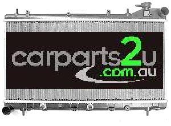 TO SUIT SUBARU FORESTER FORESTER WAGON  RADIATOR  NA - BRAND NEW RADIATOR TO SUIT SUBARU FORESTER 1.6/1.8 LITRE 4 CYLINDER PETROL MODELS (AUTOMATIC/MANUAL TRANSMISSON)