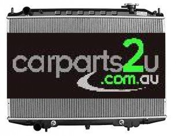 TO SUIT NISSAN NAVARA D22 UTE  RADIATOR  NA - BRAND NEW RADIATOR TO SUIT NISSAN NAVARA D22 2.5 LITRE TURBO DIESEL 4 CYLINDER ENGINES (TO SUIT BOTH MANUAL & AUTOMATIC TRANSMISSION)  *INCLUDES 12 MONTH WARRANTY*  - New quality car parts & auto spares online Australia wide with the convenience of shopping from your own home. Carparts 2U Penrith Sydney