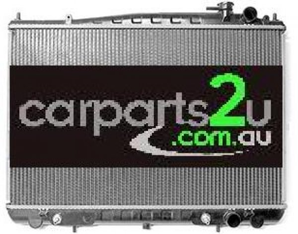 TO SUIT NISSAN NAVARA D22 UTE  RADIATOR  NA - BRAND NEW RADIATOR TO SUIT NISSAN NAVARA D22 3.0 LITRE TURBO DIESEL & 2.4/3.0/3.3 LITRE PETROL ENGINE (TO SUIT BOTH MANUAL & AUTOMATIC TRANSMISSION)  *INCLUDES 12 MONTH WARRANTY*  - New quality car parts & auto spares online Australia wide with the convenience of shopping from your own home. Carparts 2U Penrith Sydney