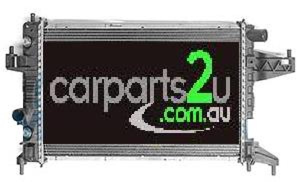 TO SUIT HOLDEN BARINA XC  RADIATOR  NA - BRAND NEW RADIATOR TO SUIT ALL HOLDEN BARINA XC 1.4/1.6/1.8 LITRE PETROL MODELS (AUTOMATIC TRANSMISSION)