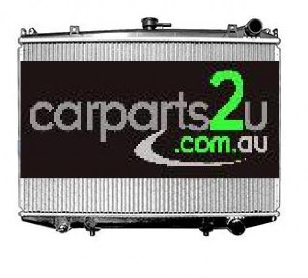 To suit NISSAN NAVARA NL  RADIATOR - New quality car parts & auto spares online Australia wide with the convenience of shopping from your own home. Carparts 2U Penrith Sydney