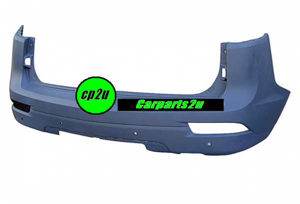 TO SUIT HOLDEN TRAILBLAZER TRAILBLAZER WAGON  REAR BUMPER  NA - BRAND NEW GENUINE HOLDEN REAR BUMPER TO SUIT ALL HOLDEN TRAILBLAZER  MODELS BETWEEN 07/2016 - CURRENT (WITH SENSOR TYPE)