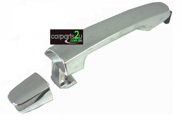TO SUIT TOYOTA HILUX HILUX UTE  DOOR HANDLE  LEFT/RIGHT - BRAND NEW CHROMEREAROUTER DOOR HANDLE TO SUIT TOYOTA HILUXMODELS BETWEEN 2/2005-4/2015(WITHOUT KEYHOLE TYPE)  *SUITS BOTH LEFT/RIGHT SIDE*  - New quality car parts & auto spares online Australia wide with the convenience of shopping from your own home. Carparts 2U Penrith Sydney