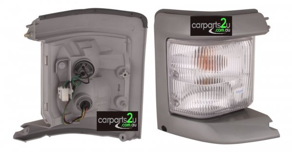 TO SUIT FORD ECONOVAN ECONOVAN JH  FRONT CORNER LIGHT  RIGHT - SILVER RIGHT HAND SIDE FRONT CORNER LAMP  TO SUIT FORD ECONOVAN MWB/LWB MODELS FROM (09/1999-CURRENT)  - New quality car parts & auto spares online Australia wide with the convenience of shopping from your own home. Carparts 2U Penrith Sydney