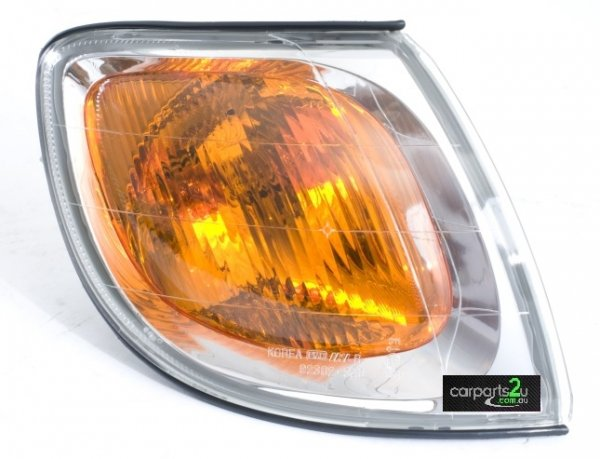 To suit HYUNDAI TRAJET TRAJET FO  FRONT CORNER LIGHT - New quality car parts & auto spares online Australia wide with the convenience of shopping from your own home. Carparts 2U Penrith Sydney