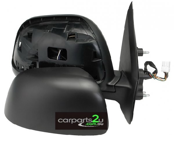 TO SUIT MITSUBISHI OUTLANDER ZG  FRONT DOOR MIRROR  RIGHT - BRAND NEW RIGHT HAND SIDEBLACK ELECTRIC SIDE DOOR MIRROR TO SUIT MITSUBISHI OUTLANDER ZG 11/2006-10/2009  - New quality car parts & auto spares online Australia wide with the convenience of shopping from your own home. Carparts 2U Penrith Sydney