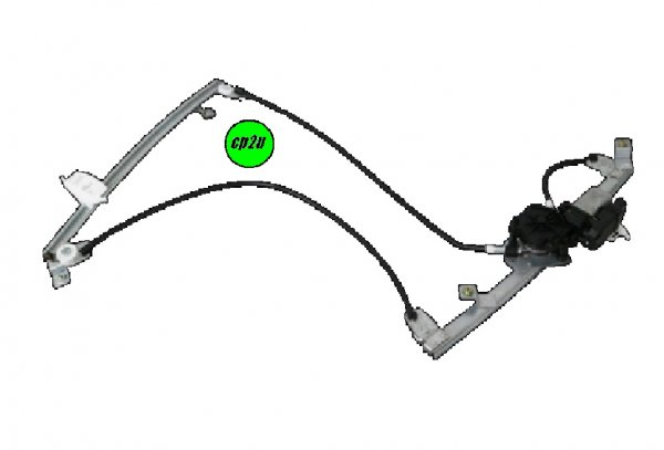 To suit RENAULT MEGANE MEGANE SERIES 2  WINDOW REGULATOR - New quality car parts & auto spares online Australia wide with the convenience of shopping from your own home. Carparts 2U Penrith Sydney