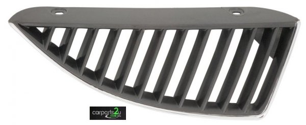 TO SUIT MITSUBISHI LANCER CH  GRILLE  RIGHT - BRAND NEW RIGHT HAND SIDE BLACK AND CHROME GRILLE TO SUIT MITSUBISHI LANCER CH (07/2003-07/2005)