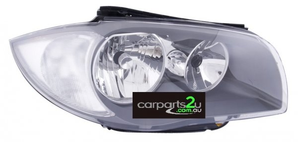 TO SUIT BMW 1 SERIES E87 5 DOOR  HEAD LIGHT  RIGHT - BRAND NEW RIGHT HAND SIDE NON XENON HEAD LIGHT TO SUIT BMW 1 SERIES E87/E82/E88 (06/2007-03/2009) 