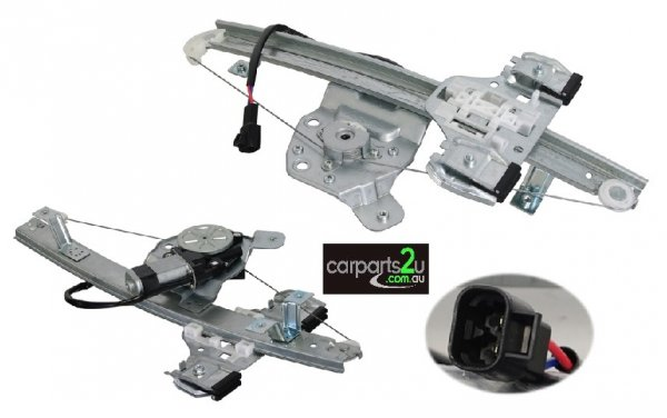 WINDOW REGULATOR RIGHT BRAND NEW REAR RIGHT HAND SIDE ELECTRIC WINDOW REGULATOR WITH MOTOR TO SUIT HOLDEN COMMODORE VE SERIES 1 & 2 (08/2006-05/2013)  EXCLUDES CALAIS MODELS  - Open 24hrs 365 days a year - our commitment is to provide new quality spare car parts nationally with the convenience of our online auto parts shopping store in the privacy of your own home.