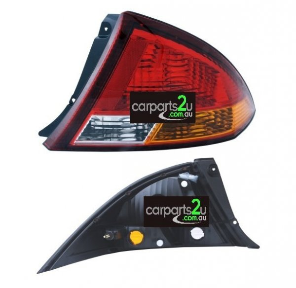 TO SUIT FORD FALCON AU  TAIL LIGHT  RIGHT - BRAND NEW RIGHT HAND SIDE RED/AMBER/CLEAR TAIL LIGHT TO SUIT FORD FALCON AU SERIES 1 SEDAN (09/1998-09/2000)