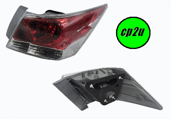 To suit HONDA ACCORD CP  TAIL LIGHT - New quality car parts & auto spares online Australia wide with the convenience of shopping from your own home. Carparts 2U Penrith Sydney