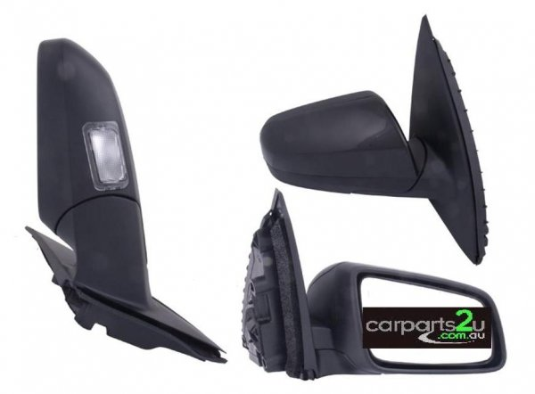 FRONT DOOR MIRROR RIGHT RIGHTHAND SIDE FRONT DOOR MIRROR TO SUIT HOLDEN COMMODORE SERIES 1/2 MODELS BETWEEN 8/2006-5/2013  ELECTRIC BLACK TYPE (WITH PUDDLELAMP/INDICATOR)  - Open 24hrs 365 days a year - our commitment is to provide new quality spare car parts nationally with the convenience of our online auto parts shopping store in the privacy of your own home.