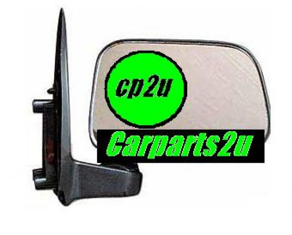 TO SUIT TOYOTA HILUX HILUX UTE 2WD  FRONT DOOR MIRROR  RIGHT - BRAND NEW RIGHTHAND SIDE FRONT DOOR MIRROR TO SUIT TOYOTA HILUX 2WD/4WD MODELS BETWEEN 8/1997-9/2001 (MANUAL SAIL MOUNT TYPE)  - New quality car parts & auto spares online Australia wide with the convenience of shopping from your own home. Carparts 2U Penrith Sydney
