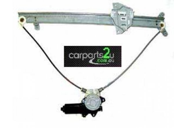 To suit MITSUBISHI PAJERO NL  WINDOW REGULATOR - New quality car parts & auto spares online Australia wide with the convenience of shopping from your own home. Carparts 2U Penrith Sydney
