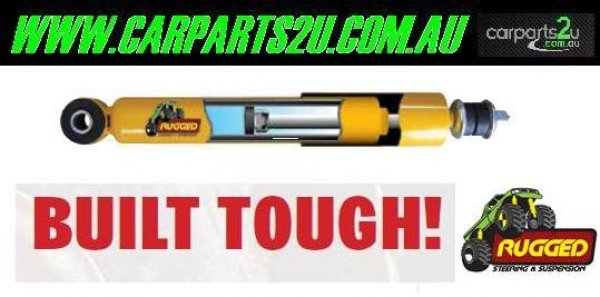 TO SUIT MITSUBISHI TRITON ML  SHOCK ABSORBERS  NA - PAIR OF REAR SHOCK ABSORBERS TO SUIT MITSUBISHI TRITON DUAL CAB/UTE ML/MN 4WD MODELS BETWEEN 7/2006 - CURRENT