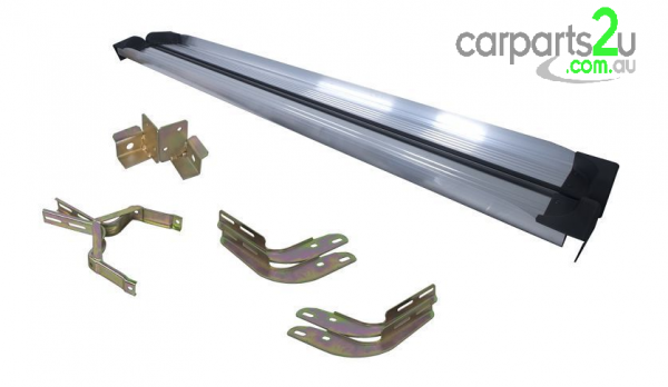 To suit TOYOTA HILUX HILUX UTE  SIDE STEPS - New quality car parts & auto spares online Australia wide with the convenience of shopping from your own home. Carparts 2U Penrith Sydney