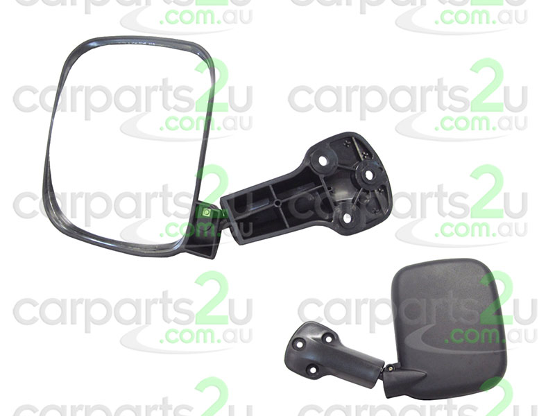 To suit TOYOTA HIACE  TAIL GATE MIRROR - New quality car parts & auto spares online Australia wide with the convenience of shopping from your own home. Carparts 2U Penrith Sydney