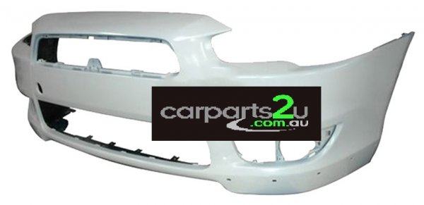 TO SUIT MITSUBISHI LANCER CJ  FRONT BUMPER  NA - BRAND NEW FRONT BUMPER TO SUIT MITSUBISHI LANCER CJ VRX MODELS ONLY (WITH SPOILER TYPE) BETWEEN 9/2007-3/2014