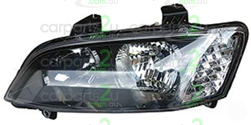 HEAD LIGHT LEFT BRAND NEW LEFT HAND SIDE BLACK TYPE HEAD LIGHT FOR HOLDEN COMMODORE VE SERIES 2 ONLY (NO PROJECTOR TYPE)