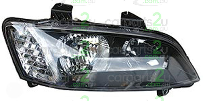 HEAD LIGHT RIGHT BRAND NEW RIGHT HAND SIDE BLACK TYPE HEAD LIGHT FOR HOLDEN COMMODORE VE SERIES 2 ONLY (NO PROJECTOR TYPE)