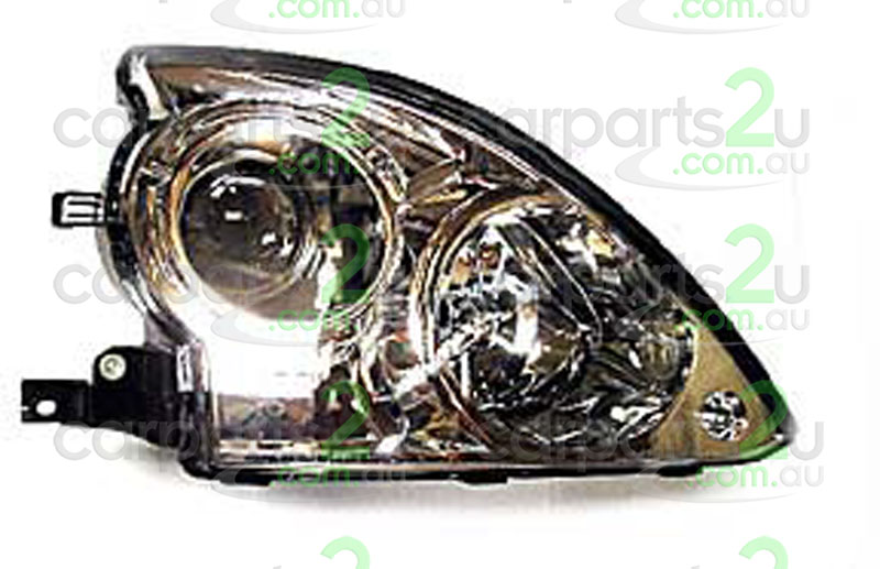 HEAD LIGHT RIGHT BRAND NEW RIGHT HAND SIDE HEAD LIGHT WITH BLACK BASE TO SUIT HYUNDAI TERRACANWAGON HP (07/2001-05/2004)  GENUINE HYUNDAI PART  - Open 24hrs 365 days a year - our commitment is to provide new quality spare car parts nationally with the convenience of our online auto parts shopping store in the privacy of your own home.