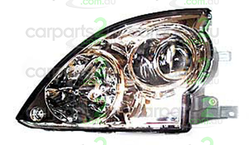 HEAD LIGHT LEFT BRAND NEW LEFT HAND SIDE HEAD LIGHT GREY BASE TO SUIT HYUNDAI TERRACAN WAGON (07/2001-05/2004)  GENUINE HYUNDAI PART  - Open 24hrs 365 days a year - our commitment is to provide new quality spare car parts nationally with the convenience of our online auto parts shopping store in the privacy of your own home.
