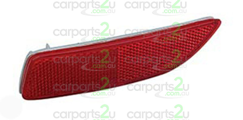 To suit TOYOTA COROLLA ZRE152/ZRE153 SEDAN  REAR BAR REFLECTOR - New quality car parts & auto spares online Australia wide with the convenience of shopping from your own home. Carparts 2U Penrith Sydney