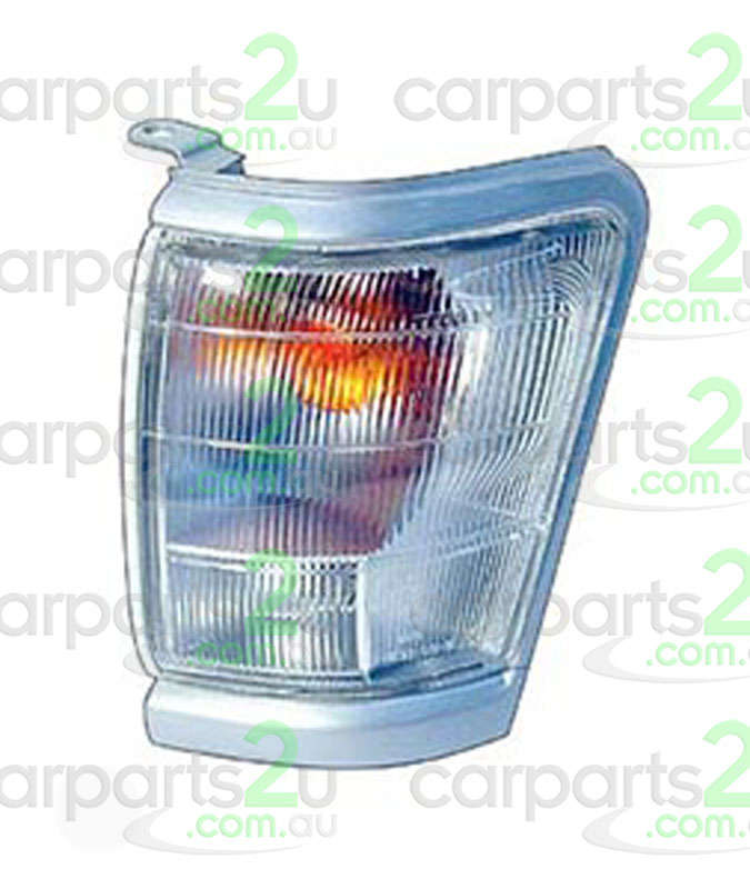 TO SUIT TOYOTA HILUX HILUX UTE 4WD  FRONT CORNER LIGHT  LEFT - BRAND NEW LEFT HAND SIDE FRONT CORNER LIGHT TO SUIT TOYOTA HILUX 2WD/4WD UTE MODELS BETWEEN 8/1997-9/2001 (SILVER/GREY SURROUND TYPE)
