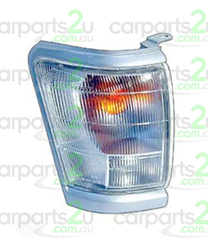 TO SUIT TOYOTA HILUX HILUX UTE 4WD  FRONT CORNER LIGHT  RIGHT - BRAND NEW RIGHT HAND SIDE FRONT CORNER LIGHT TO SUIT TOYOTA HILUX 2WD/4WD UTE MODELS BETWEEN 8/1997-9/2001(SILVER/GREY SURROUNDTYPE)  - New quality car parts & auto spares online Australia wide with the convenience of shopping from your own home. Carparts 2U Penrith Sydney
