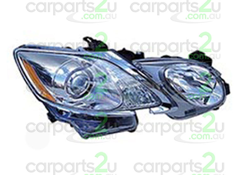To suit LEXUS GS300 / GS430 / GS460  GS300 / GS430  HEAD LIGHT - New quality car parts & auto spares online Australia wide with the convenience of shopping from your own home. Carparts 2U Penrith Sydney