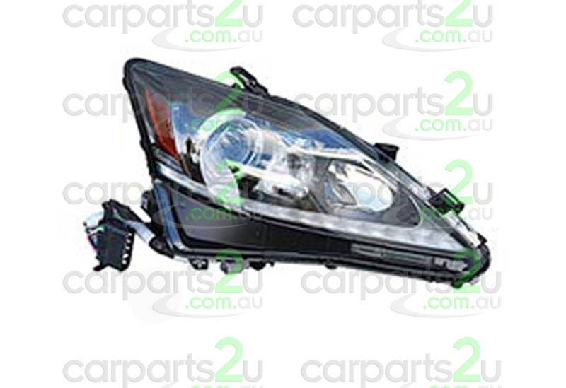 To suit LEXUS IS IS250 CONVERTIBLE  HEAD LIGHT - New quality car parts & auto spares online Australia wide with the convenience of shopping from your own home. Carparts 2U Penrith Sydney