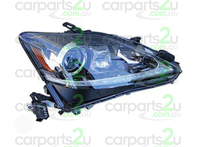 To suit LEXUS IS IS250  HEAD LIGHT - New quality car parts & auto spares online Australia wide with the convenience of shopping from your own home. Carparts 2U Penrith Sydney