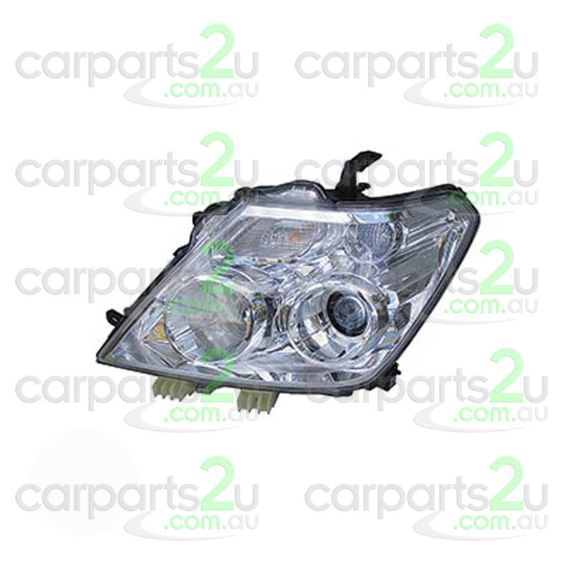 TO SUIT NISSAN PATROL Y62  HEAD LIGHT  LEFT - BRAND NEW LEFT HAND SIDE HALOGEN HEAD LIGHT TO SUIT NISSAN PATROL Y62 (12/2012-CURRENT)