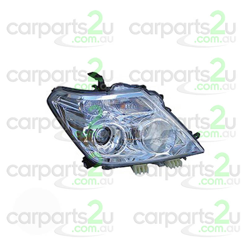 TO SUIT NISSAN PATROL Y62  HEAD LIGHT  RIGHT - BRAND NEW RIGHT HAND SIDE XENON HEAD LIGHT TO SUIT NISSAN PATROL Y62 (12/2012-CURRENT)  GENUINE NISSAN PART  - New quality car parts & auto spares online Australia wide with the convenience of shopping from your own home. Carparts 2U Penrith Sydney