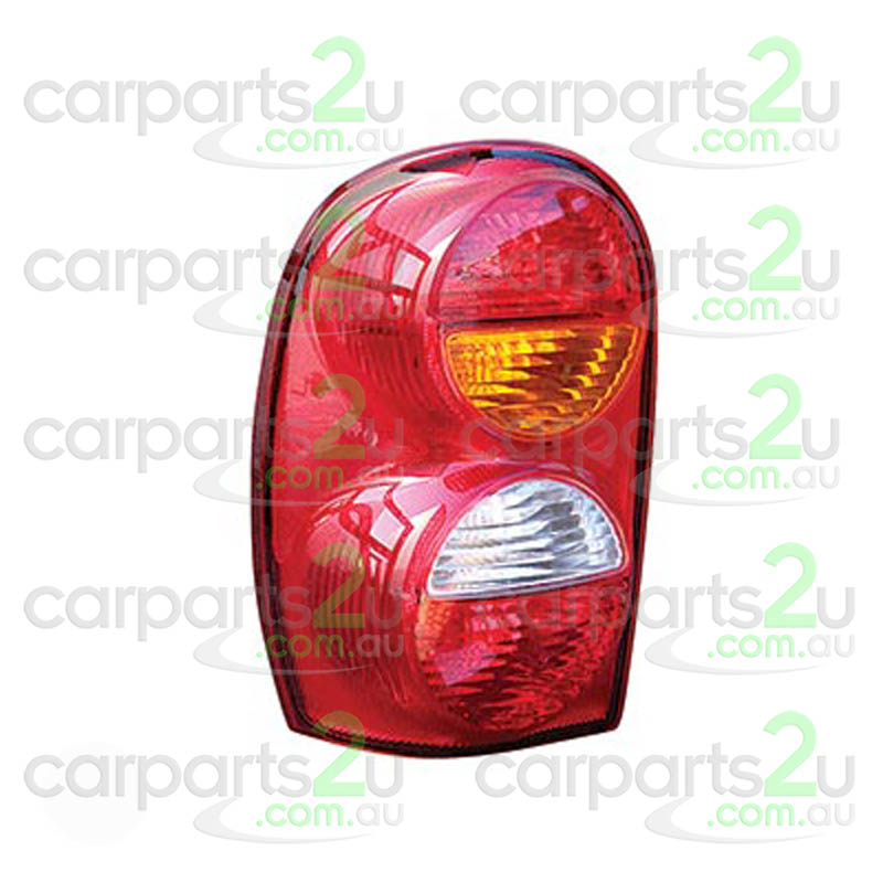 TO SUIT JEEP CHEROKEE CHEROKEE KJ  TAIL LIGHT  LEFT - BRAND NEW LEFT HAND SIDE TAIL LIGHT TO SUIT JEEP CHEROKEE KJ (09/2001-10/2004)  - New quality car parts & auto spares online Australia wide with the convenience of shopping from your own home. Carparts 2U Penrith Sydney