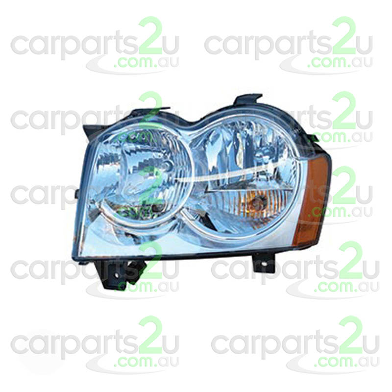 To suit JEEP GRAND CHEROKEE  HEAD LIGHT - New quality car parts & auto spares online Australia wide with the convenience of shopping from your own home. Carparts 2U Penrith Sydney