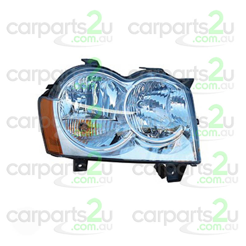 To suit JEEP GRAND CHEROKEE GRAND CHEROKEE WH  HEAD LIGHT - New quality car parts & auto spares online Australia wide with the convenience of shopping from your own home. Carparts 2U Penrith Sydney