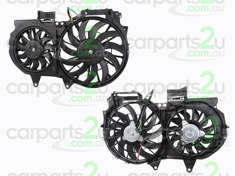 To suit AUDI A4  RADIATOR FAN ASSEMBLY - New quality car parts & auto spares online Australia wide with the convenience of shopping from your own home. Carparts 2U Penrith Sydney