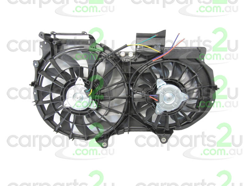 TO SUIT AUDI A4 A4 B6  RADIATOR FAN ASSEMBLY  NA - BRAND NEW DUAL RADIATOR/CONDENSER FAN ASSEMBLY TO SUIT AUDI A4 B6/B7/B8 MODELS BETWEEN 7/2001-5/2012