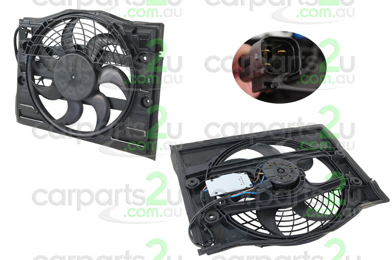 To suit BMW 3 SERIES E36  CONDENSER FAN ASSEMBLY - New quality car parts & auto spares online Australia wide with the convenience of shopping from your own home. Carparts 2U Penrith Sydney