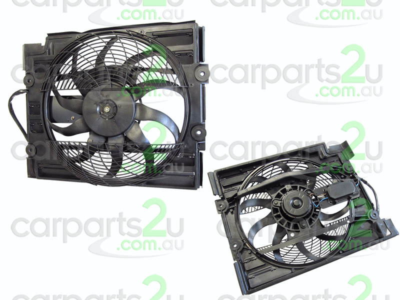 To suit BMW 5 SERIES E39  CONDENSER FAN ASSEMBLY - New quality car parts & auto spares online Australia wide with the convenience of shopping from your own home. Carparts 2U Penrith Sydney