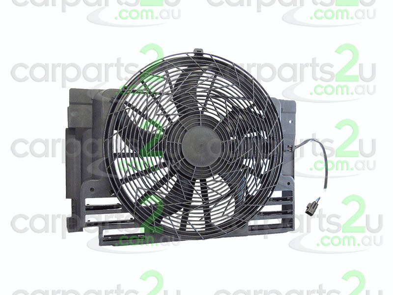 To suit BMW X5 E39  CONDENSER FAN ASSEMBLY - New quality car parts & auto spares online Australia wide with the convenience of shopping from your own home. Carparts 2U Penrith Sydney